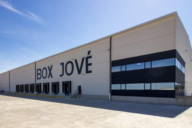 Nave Box Jove en Fraga Paobal Constructora