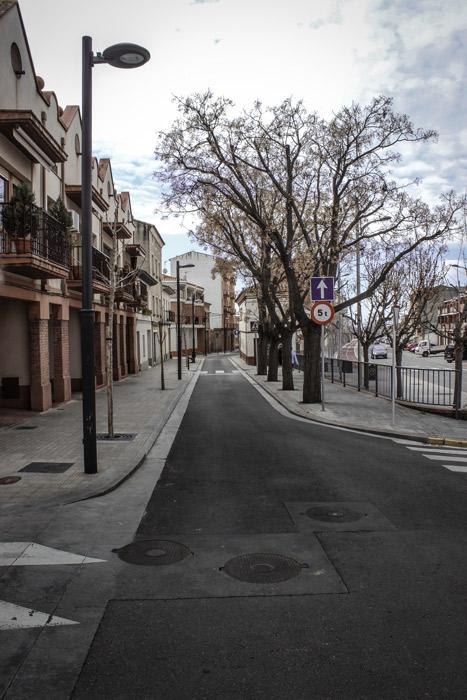 Calle Alegria en Monzon Paobal Contructora