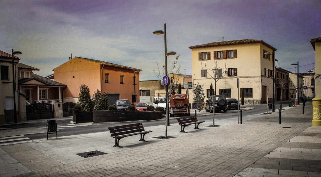 Calle Huesca en Monzon Paobal Contructora
