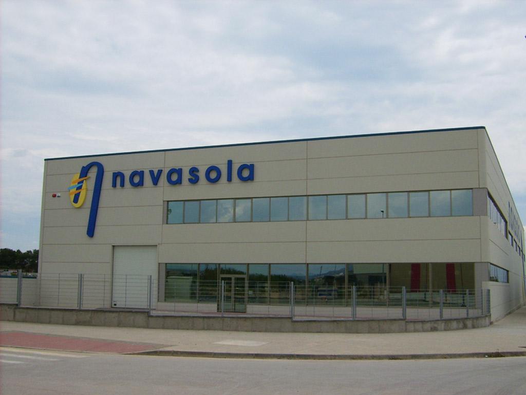 Construccion Nave Navasola en Binefar Paobal Constructora