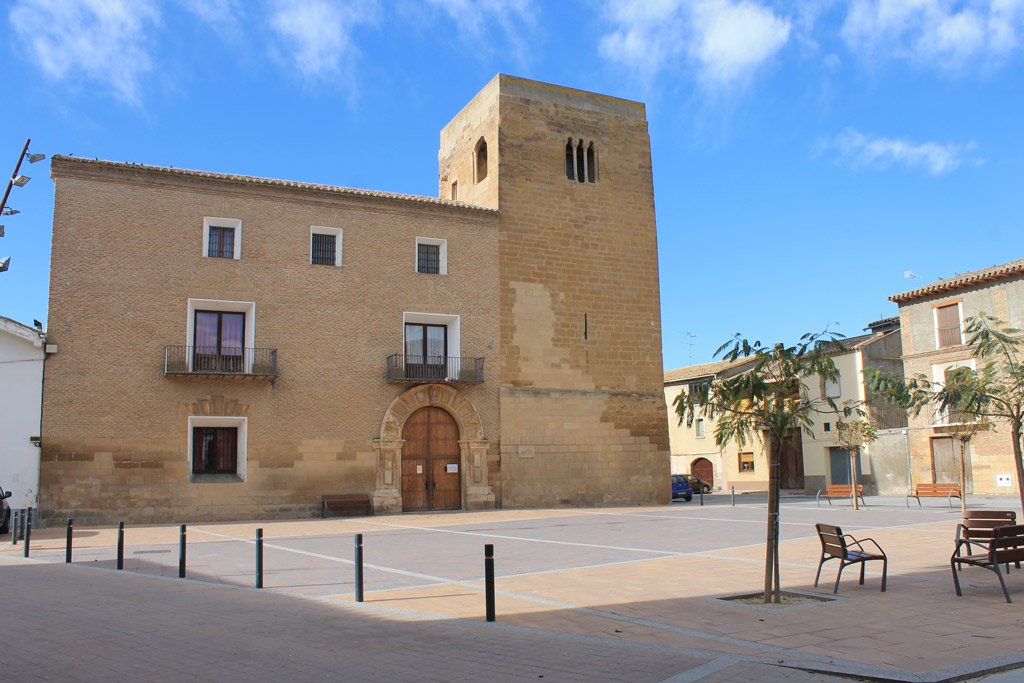 Plaza Mayor Albalate de Cinca Paobal Constructora