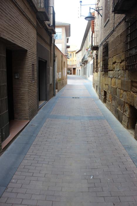 Plaza Padre Llamas en Binefar Paobal Constructora