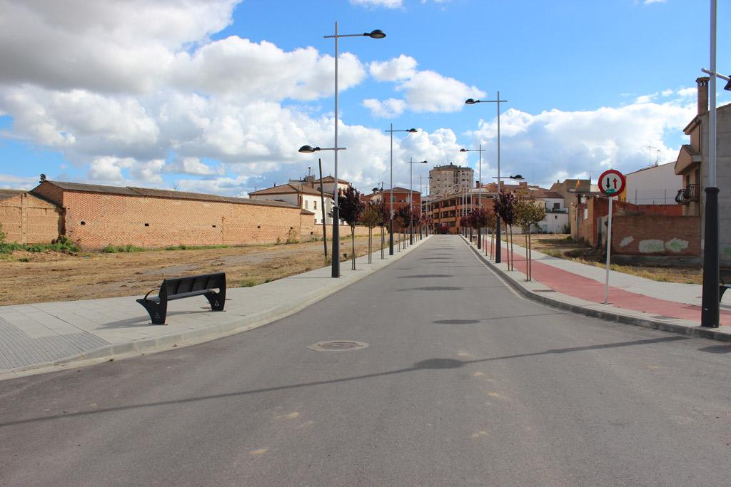Urbanizacion Calle Oriols en Binefar Paobal Constructora